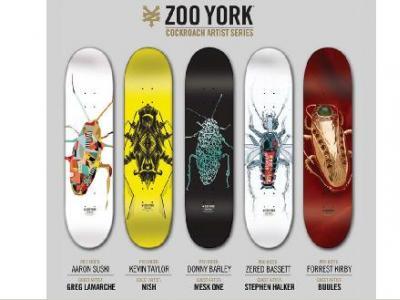 Zoo York 偏爱蟑螂