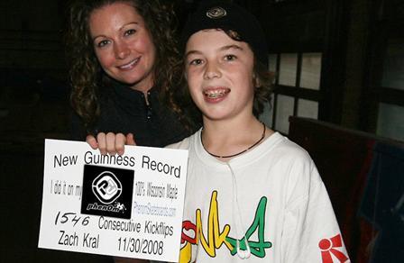 Kickflip世界纪录再次被打破
