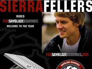 Sierra Fellers又得到FKD赞助