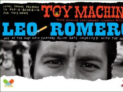 Leo Romero加入Toy Machine!