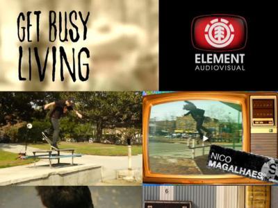 Element新作Get Busy Living弃用镜头剪辑短片
