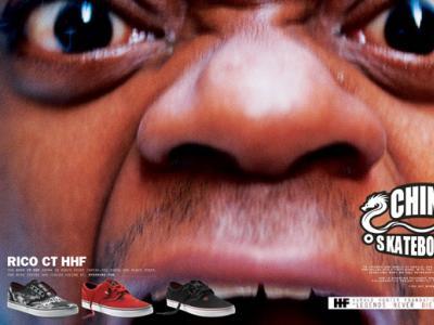 DVS发布Harold Hunter基金系列滑板鞋