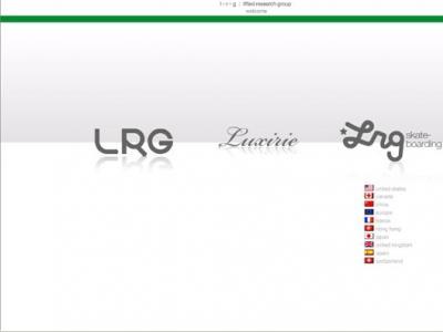 LRG采用全新网站