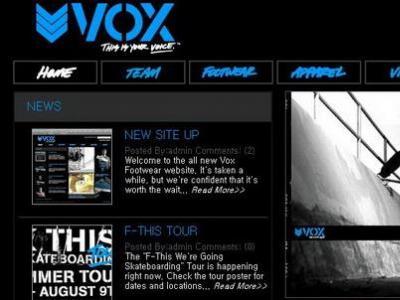 Vox, Elwood 更新网站