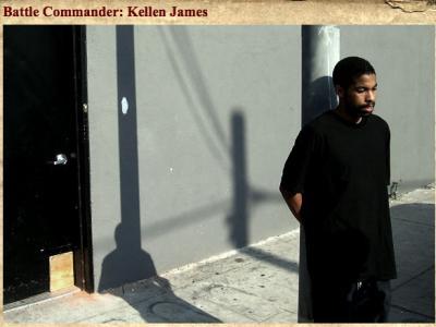 Kellen James:战场指挥官