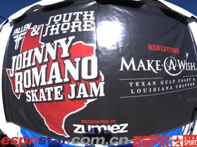 Johnny Romano悼念滑板赛