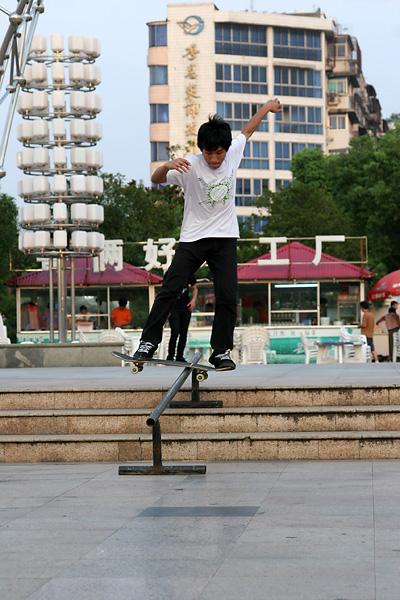 07城市滑板报道-南昌站