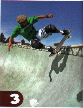 FAKIE OLLIE out of a Transution-Steve Cabllero