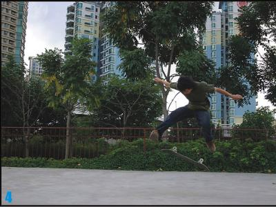 Switch heelflip——废柴(BK)
