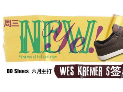 【NewYe周三】DCshoes六月主打-Wes Kremer签名款