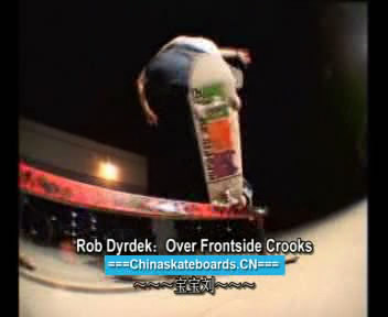 [中文教学]Frontside Over Crooks