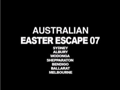 DC澳大利亚Escape Tour