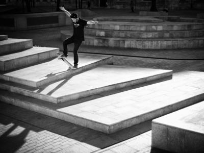 【滑板文艺】马德里摄影师Esteban Velarde