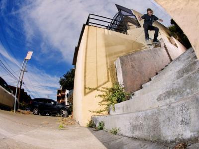 【滑板文艺】摄影师Dave Chami,出镜滑手Peter Raffin