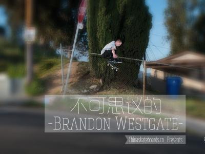 【盘问】不可思议的Brandon Westgate