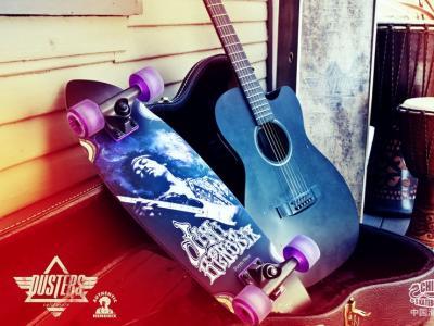【NewYe周三】- 当吉他神遇上滑板神-Dusters x Jimi Hendrix