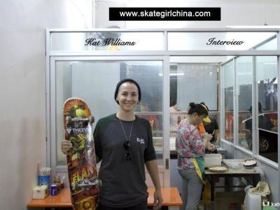 【板女动态】澳大利亚女滑手Kat Williams专访