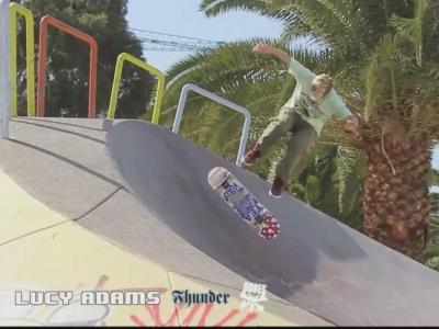 【板女动态】英国Lucy Adams2013滑板回顾剪辑发布