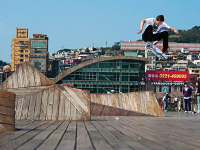 【滑板文艺】Florian Hopfensperger亚洲滑板旅行摄影作品集