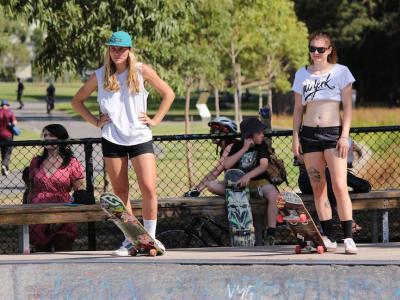 【板女动态】DAUGHTERS OF DOOM-2014 澳洲最强板女大赛