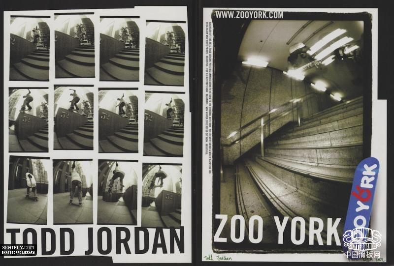【滑板文艺】Todd Jordan作品选
