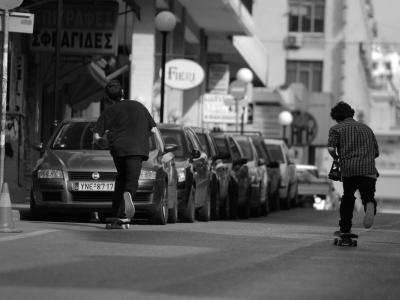 【滑板文艺】雅典滑板印像