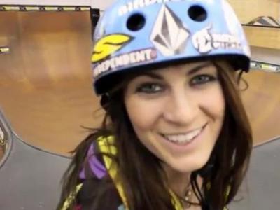 【板女动态】国外女滑手Lyn-z公路旅行视频