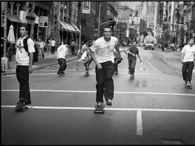 【滑板文艺】传奇摄影师Mike O'Meally