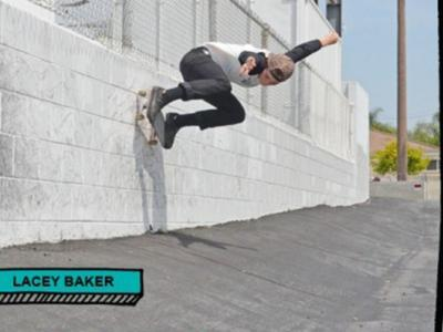 【板女动态】Meow Skateboards发布Lacey Baker签名款板面