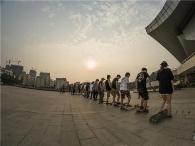 【城市滑报】武汉非常滑板滑板节