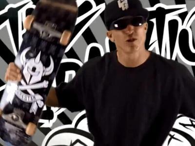 【滑板文艺】滑板饶舌-Chris Gentry音乐单曲滑板MV