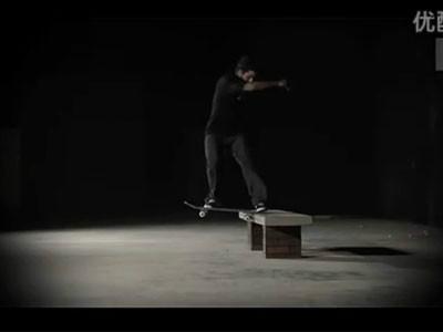 [中文字幕]P-Rod滑板教学之Frontside TailSlides