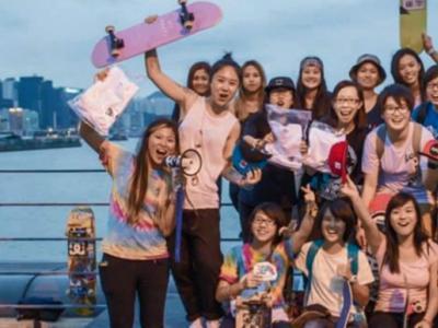 【板女动态】Psychos队员Wandy带你回顾香港滑板日