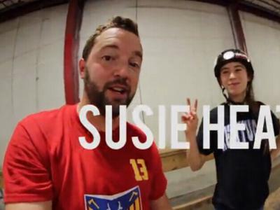 【板女动态】POP秀252期:滑板女孩Susie Heath
