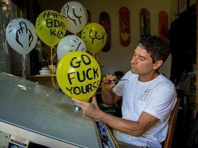 【盘问】Todd Francis与他的滑板艺术