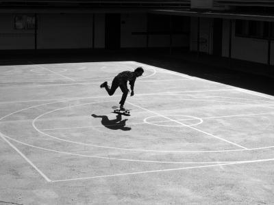 【滑板文艺】青年摄影师Borrowman