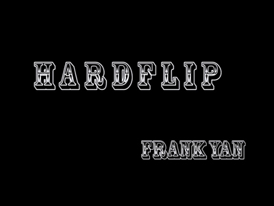 滑板动作教学 Hardflip——闫政