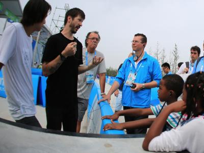 【盘问】南京青奥会现场访问Sean Malto和Chris Cole