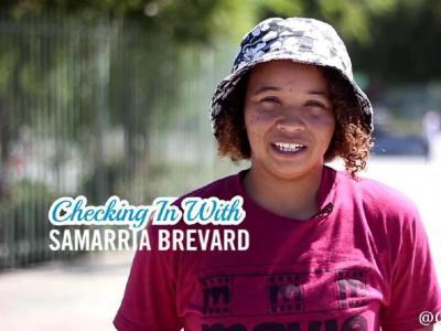 【板女动态】Samarria Brevard南加州视频片段