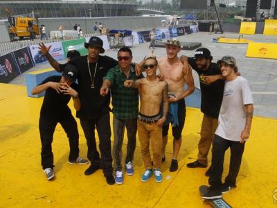 【城市滑报】2014湖州极限运动大赛-国际组街式比赛