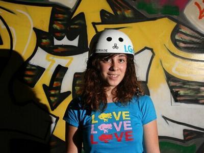 【板女动态】美国新泽西女滑手Gaby Ponce