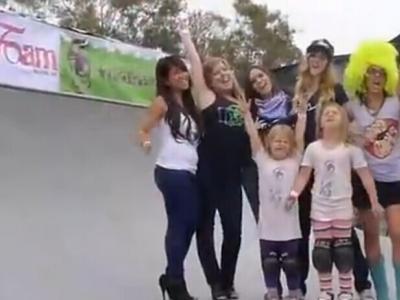 【板女动态】板女风采:全女子滑板赛