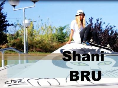 【板女动态】法国16岁女滑手Shani Bru个人滑板短片