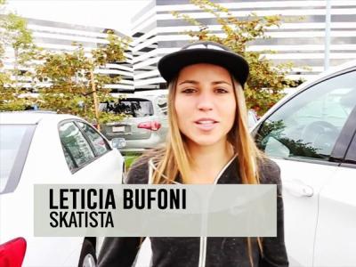 【板女动态】Skatelife带你见证滑板女神Leticia Bufoni的一天