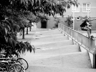 【滑板文艺】荷兰摄影师Marcel Veldman