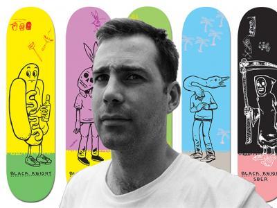 【盘问】Andrew Pommier:艺术家与滑板的姻缘