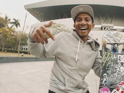 【WHATSUP WKND】#171-印尼DC滑手Deni TX深圳滑板初体验