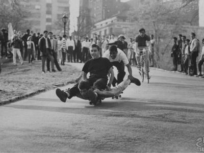【滑板黑历史】他们是世界上第一波玩滑板的人