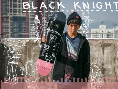 刘佳明SBER最新签名款滑板『小死神』广告短片