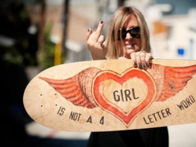 """传奇滑手Cindy Whitehead:""""板女不只是一个单词"""""""